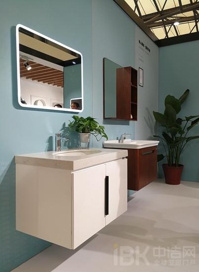 2018上海厨卫展HCG和成展出的浴室柜